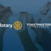 Rotary Club of St. Martin Sunset & St. Martin Evolution Toastmasters Club Partner in Joint Meeting