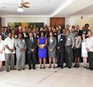 Sint Maarten represented at UNDP Crisis Preparedness and  Resilience Workshop