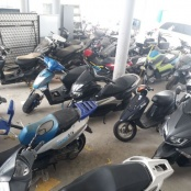 Police force calling on owners of unclaimed & confiscated motorbikes