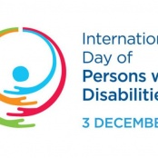 """December 3rd Marked: International Day of Persons with Disabilities """"A day for all"""""""