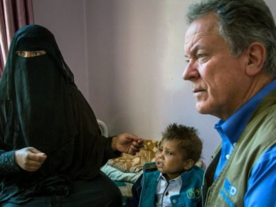 Finding hope in calamity: how UN humanitarians cope on the frontline