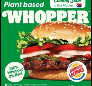 BURGER KING closing the year with big prizes, a NEW plant-based WHOPPER and reopening of Cole Bay location