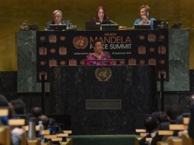 At UN, countries pledge to be guided by Mandela's legacy in working for a better world