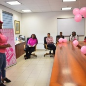 Positive customer reaction to TelEm Group Breast Cancer Awareness Campaign