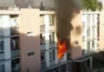 One woman dead, policeman injured in fire