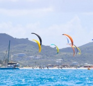 First race of the 1st Edition of the Caribbean Foiling Championships kicks off at Orient Bay with 40 Competitors