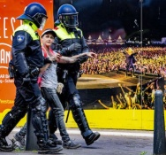The Hague police arrest 37 for breaking rules at anti-lockdown protest
