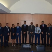 Police commissioners attend working visit on Sint Maarten