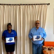 Rotary Club of St. Martin Sunrise donates educational devices to foster home
