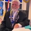 LOUIS WEVER SWORN IN AS DISTRICT GOVERNOR 2021-2022 FOR DISTRICT 7020
