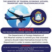 July 18, Set for Repatriation Flight Organized to Bring Students and Residents Home