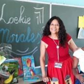 Loekie Morales a Dutch Caribbean author participates in BNK's Children Book Week