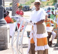 Prime Minister Silveria Jacobs Emancipation Day Address