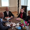 Minister Smith visits Cabinet of the Minister Plenipotentiary