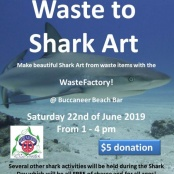 Nature Foundation Organizes Kids Shark Day on Saturday