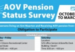 AOV PENSION STATUS SURVEY FOR RESIDENTS OF DUTCH SINT MAARTEN