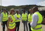 Dutch State Secretary van Veldhoven visits Statia