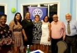 Rotary Club of St. Martin Sunrise inducts new members: Amanda Wever and Glenda Shillingford