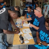 Man UP & Check UP Prostate Cancer Awareness Campaign kicks off with a BLUE BANG