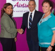 "CARIBBEAN AIRLINES IS THE OFFICAL AIRLINE OF THE WORLD INTERHASH ""CARNIVAL OF HASHES"" 2020"