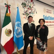 Minister Lee participates in launch of report on Universal Health in the 21st century