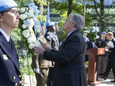 UN honours peacekeepers who 'paid the ultimate price', for the sake of others